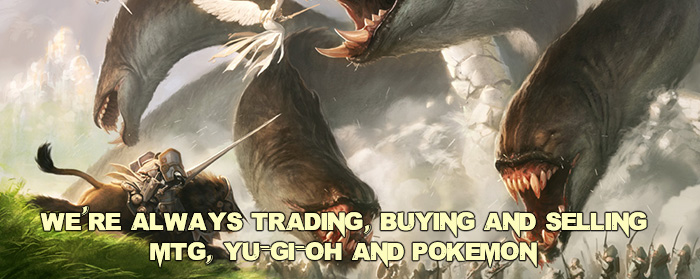 Always Trading, Buying, and Selling CCGs!