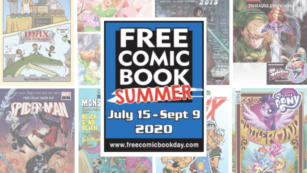 Free Comic Book Summer Game Haven